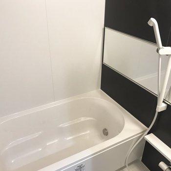 お風呂広め!浴室乾燥機能もついてるんです◎※写真は前回募集時のもの
