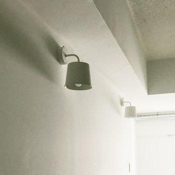 廊下についてるライトがかわいい◎(※写真は7階の同間取り別部屋、清掃前のものです)