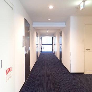 共用部】廊下も綺麗にされています