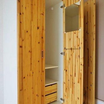 お洒落収納スペースは有効活用できそう(※写真は3階の別部屋、同間取りのものです)