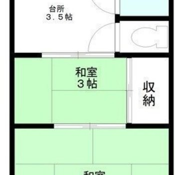 和室のお部屋になります。