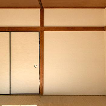【和室6帖】畳の部屋って落ち着きますね。