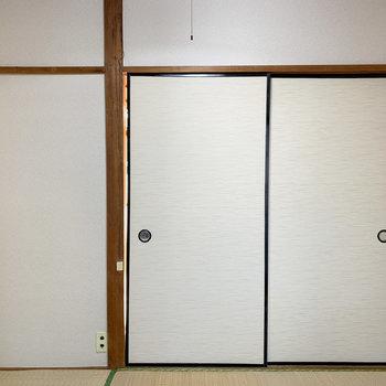 【和室3帖】真ん中の和室のお部屋に。