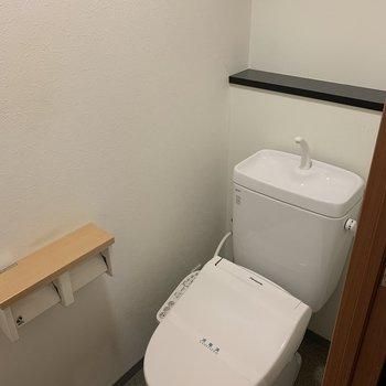 トイレはウォシュレットつきなので◎