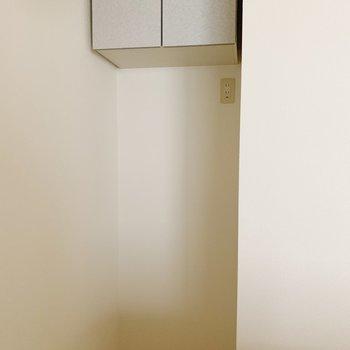 収納も冷蔵庫スペースもありますよ