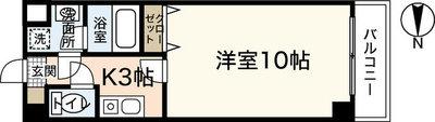 FOUR SEASONS TAIーSHIN 1st の間取り