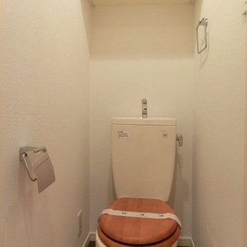 トイレは木製便座に変更!※写真は前回募集時のものです