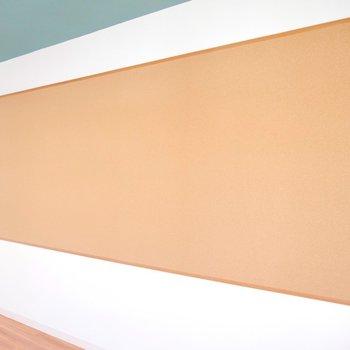 オンリーワンの壁面をつくっちゃおう♪※写真は同間取り別部屋