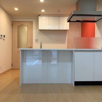 【LDK】オープンキッチンですよ〜