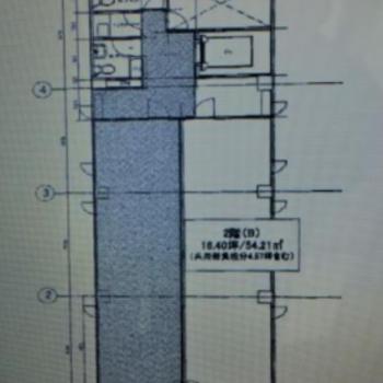お部屋は2B号室です。