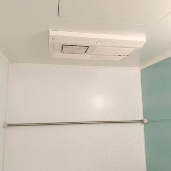 浴室乾燥や暖房、追い炊き機能などもしっかりと。