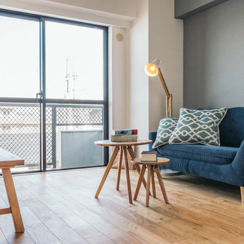 【完成イメージ】天然木のフローリングはどんな家具も素敵にコーディネート