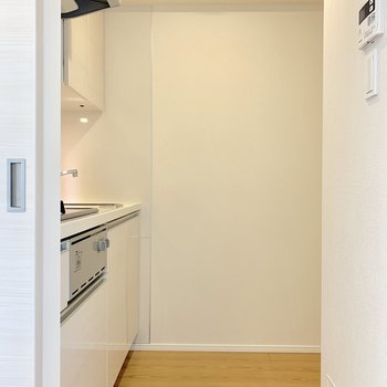 キッチンは扉で区切れますよ