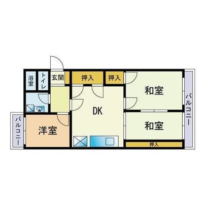 GOJO APARTMENT の間取り