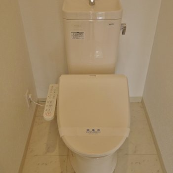 トイレはシンプルに※写真は前回募集時のもの。