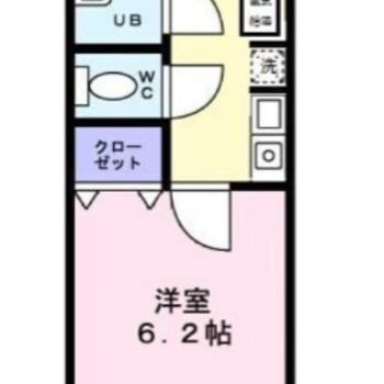 クローゼットをうまく利用して、居室スペースをなるべく広く使いましょう