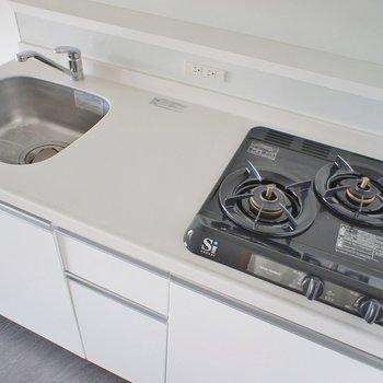 調理スペースもしっかりあります。※写真は同タイプの別部屋