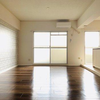 床が綺麗〜