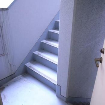 階段もあります。