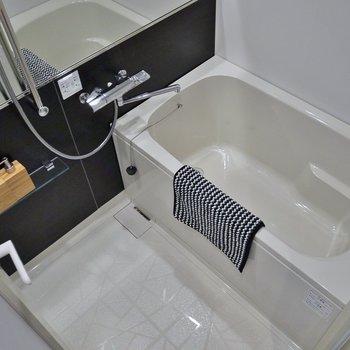 お風呂もゆったり!大きい鏡でスタイルチェック!※写真は前回募集時のもの