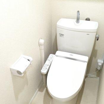 トイレはウォシュレットですよ〜
