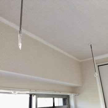 室内干しが出来る設備もありますよ。