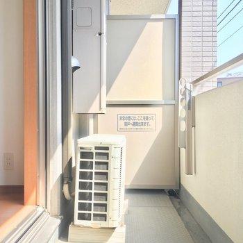 バルコニーポカポカです※写真は3階の同間取り別部屋のものです