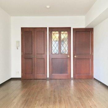 家具の配置もしやすそう◎(※写真は3階の同間取り別部屋のものです)