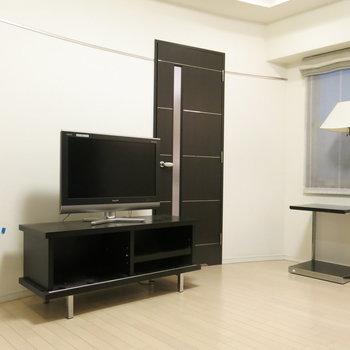 家具はかっこいいものでまとめたい(※写真は3階の同間取り別部屋、モデルルームのものです)