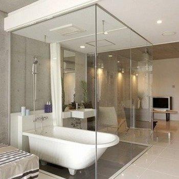 なんといってもこのお風呂。(※写真は8階の同間取り別部屋のものです)