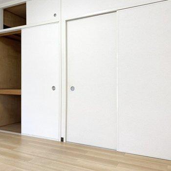 横に長いお部屋です※写真は3階の同間取り別部屋のものです