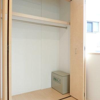 洋室の収納※写真は3階の同間取り別部屋のものです