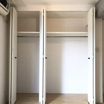 一人暮らしには十分な広さ。※写真は2階の同間取り別部屋のものです