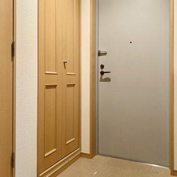 玄関はゆったりしています。※写真は前回募集時のものです