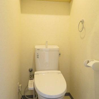 トイレは落ち着いてできますね