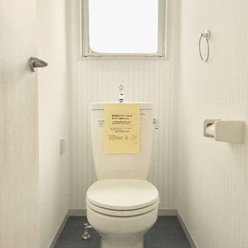 トイレも明るい空間に。