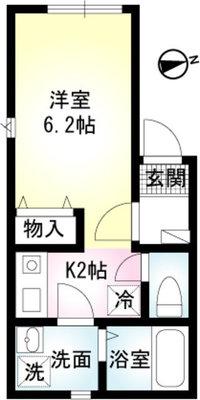 アルバ横須賀Ⅱ の間取り