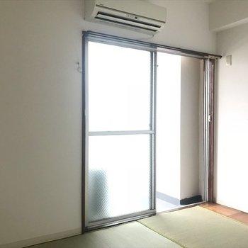 エアコンで快適空間。