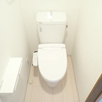 トイレも綺麗でした。