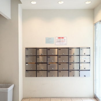 メールボックスはこちら。