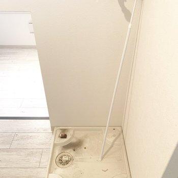 隅っこに洗濯パン(※写真のお部屋は清掃前のものです)