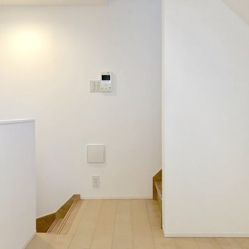【2階】TVモニタ付ドアホンがここにも付いています