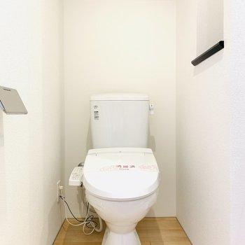 バスルームですが個室っぽさもあります
