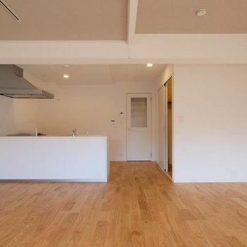 【イメージ】こういう空間で料理がしたかった...!※コンロの前だけ壁が立ちます。
