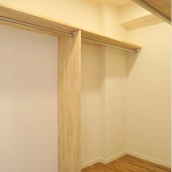 【イメージ】収納はリビングから寝室へ抜けられる大容量ウォークスルー収納を