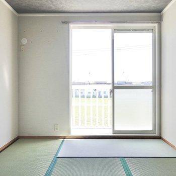 外との連続性が感じられるのがこのお部屋の良いところ。