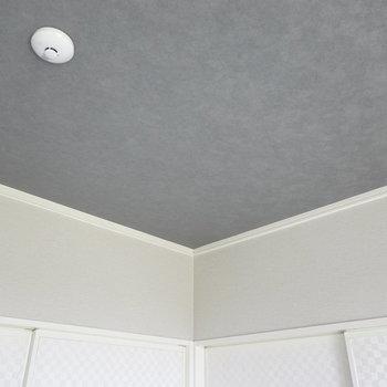 天井や襖がモダンにリノベされていて、居心地の良さに貢献しています。