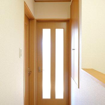 3階には洋室が2室。まずは南側のお部屋から。