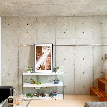 モダンな家具でまとめてみたいなぁ。 (※家具や小物はサンプルです。インテリアの参考にどうぞ。)
