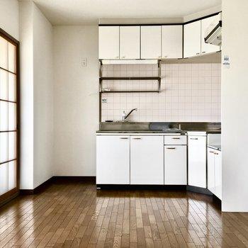 冷蔵庫スペースがあるのはうれしいポイント。